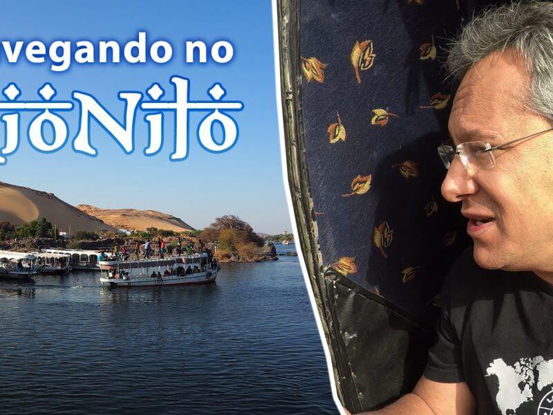 Navegando no Rio Nilo