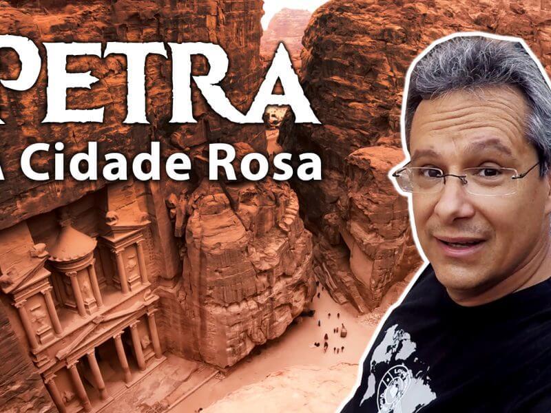 Petra Cidade Rosa Jordânia